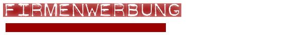 Banner Firmenwerbung