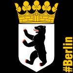 Berlin-Wappen (1000 Pixel), Bearbeitung: Büro Gotthal (2018)