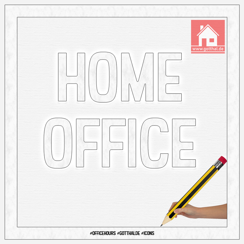Home Office #Officehours #gotthalDE #Icons 850 Pixel
