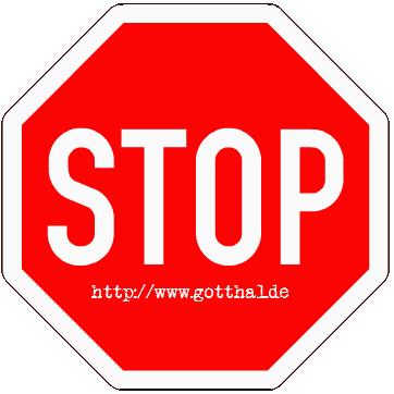 Stop - www.gotthal.de (Verkehrsschild)